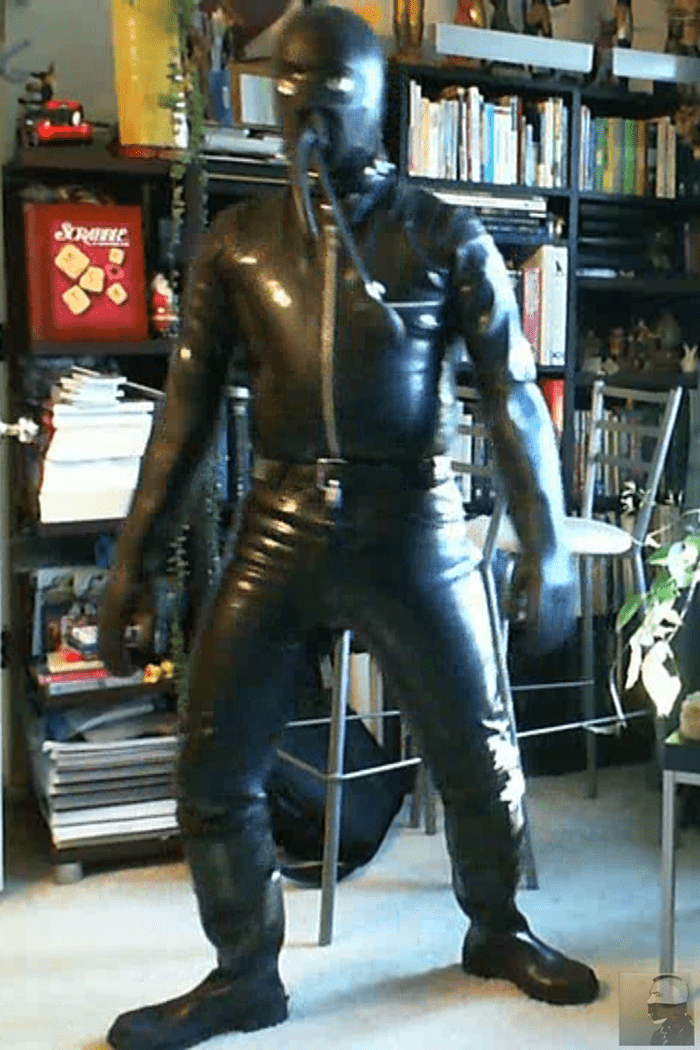Two Day Rubber Prison Rubberboundcop