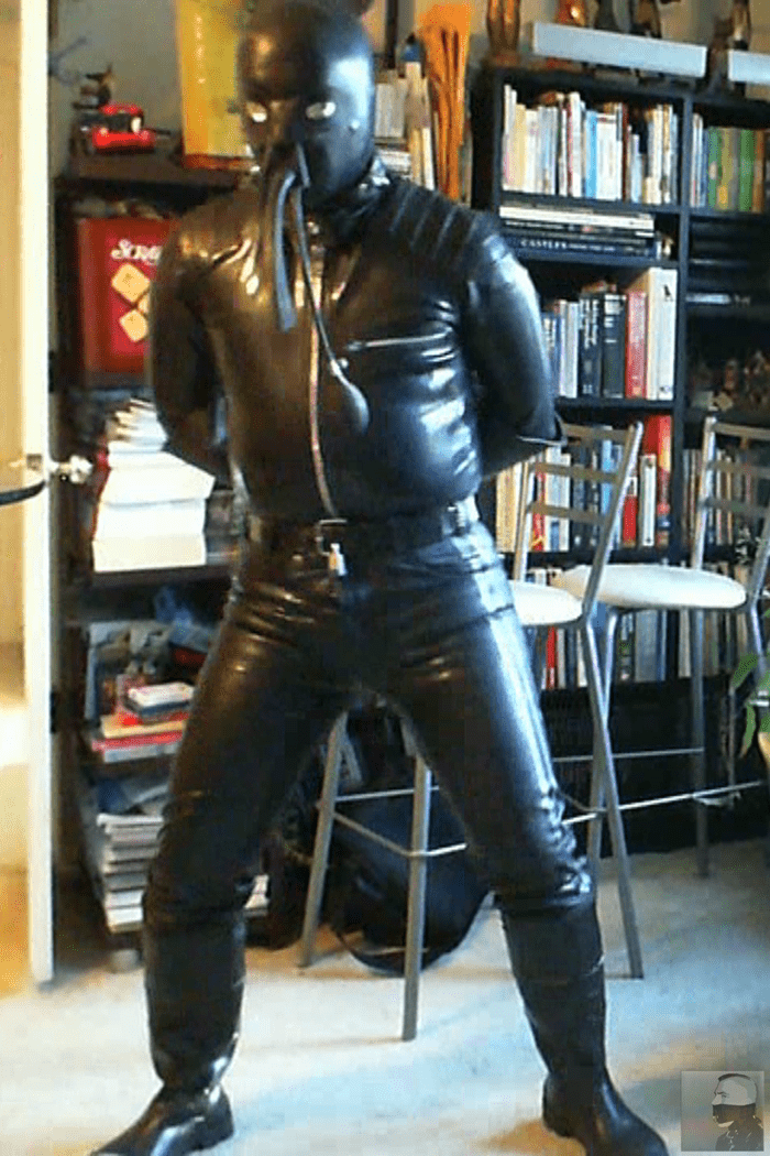 Rubberboundcop Two Day Rubber Prison