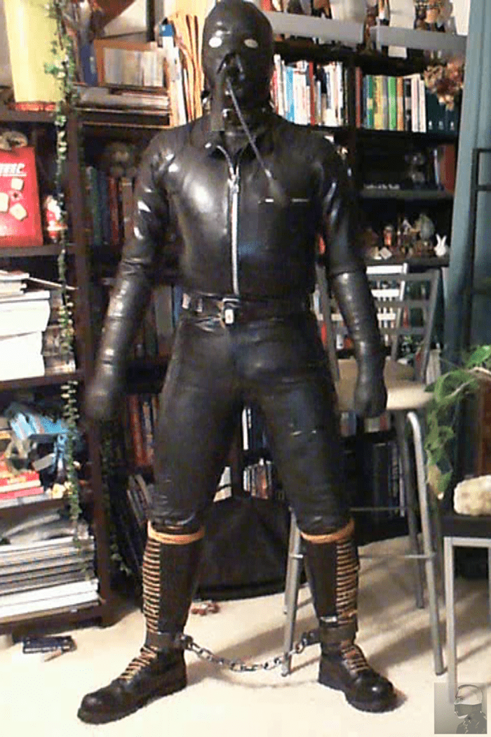 Gimping It Up Rubberboundcop