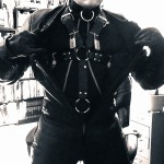 Rubber Leather Cycle Gimp